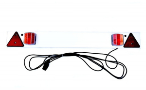 Bara remorca cu lampa SMD 12V Lungime