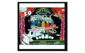 Joc educativ Valiza Magica, 50 trucuri magie, 8 ani+