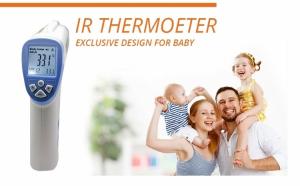 Termometru cu infrarosu, masoara temperatura fara contact corporal