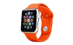 Curea Silicon Premium MTP Orange pentru Apple Watch 38mm