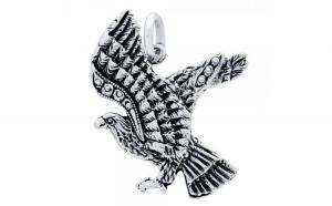 Pandantiv argint 925 in forma de vultur