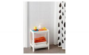 Etajera alba pentru baie sau bucatarie, White Monday, Casa
