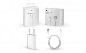Set incarcator cu cablu de la Apple