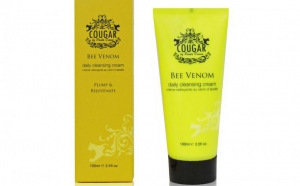 Cougar Bee Venom Daily Cleansing Cream, Cougar