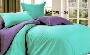 Lenjerie de pat dublu UNI 100% bumbac, 4 piese si 2 fete, de diferite nuante, pentru ca ai nevoie de diversitate, la doar 119 RON in loc de 239 RON