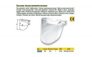 Ecran  masca protectoare TOPEX 82S220