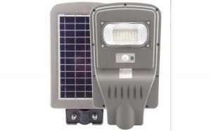 Lampa stradala 30W cu panou solar, acumulator, senzor de miscare Black Friday Romania 2017