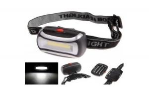 Lanterna de cap cu trei faze de iluminare 5 W, la doar 39 RON in loc de 89 RON