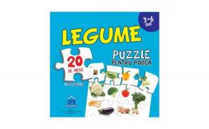 Legume( Puzzle Podea 50/70 + Afis 50/70 )