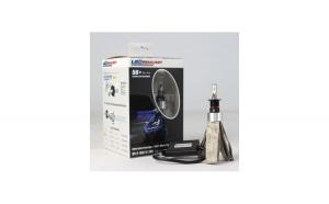 Set Bec H4 cu LED Luxeon Zes 5S+ CanBus 6000k 2 faze
