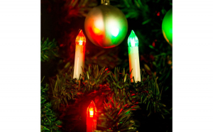 Sir de lumanari pt. pomul de Craciun, 10 LED, multicolor, 2xAA GLZ-58037B