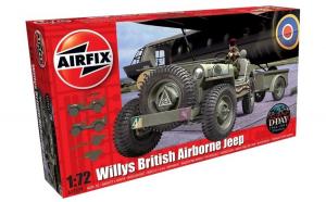 1:72 Willys British Airborne Jeep 1:72