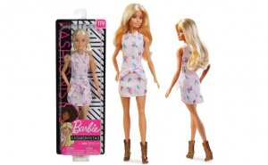 Papusa Barbie Fashionistas, blonda