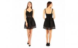Rochie Neagra Dark Desire, Fashion Outlet