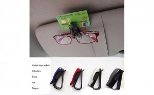 Suport auto pentru ochelari 2/bucati, la doar 15 RON in loc de 50 RON