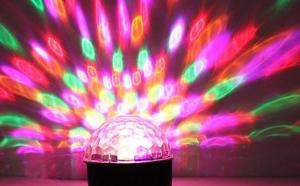 Proiector cu 6 LED si efecte de lumini