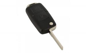 VW Carcasă cheie tip briceag 2 butoane