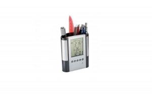 Suport birou multifunctional - statie meteo, calendar, ceas cu alarma, la 35 RON in loc de 80 RON