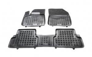 Set covorase cauciuc stil tavita negru Pegeot 3008 SUV 05.16 rezaw