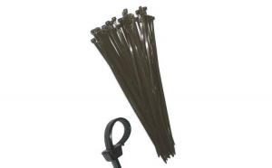 Coliere plastic 250 X 4.8 mm negre