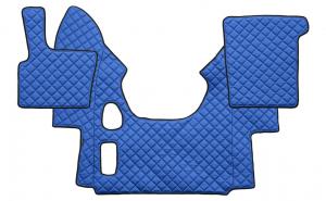 Set pres Daf XF95 Manual albastru, piele sintetica, finisare atenta