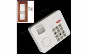 Alarma fara fir - cu senzor de miscare si cod de blocare/deblocare