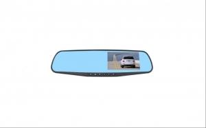 Oglinda auto cu Camera Video Microfon si Difuzor Incorporat - Perfecta pentru supraveghere trafic