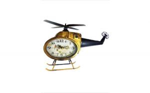 Ceas de masa in forma de Elicopter, 34 cm, F28ABCD