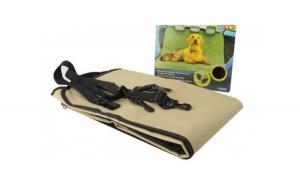 Paturica protectoare cu orificii pentru centura siguranta - pentru animale