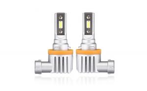 Set Bec H11 cu LED CSP2121  4000 lumen