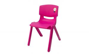 Scaun copil pentru gradinite 48cm roz