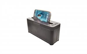 Boxa portabila Bluetooth cu afisaj LCD - cu stander pentru telefon