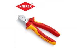Cleste cu taiere diagonala 160 mm cu maner izolat   KNIPEX 7006160
