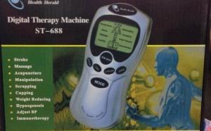 Aparat Digital de masaj si terapie / Acupunctura / Stimulare - Ecran + functii multiple