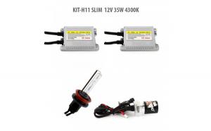 H11 SLIM  12V 35W 4300K