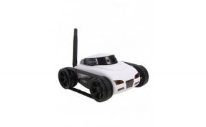 Mini tanc spion I-Spy, wireless, alb