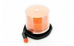 Girofar LED Portocaliu 12V. COD: G9