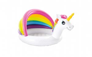 Piscina gonflabila Unicorn cu acoperis