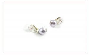 ELEGANT - Cercei ICHIBAN din AG 925, realizati cu perle si cristale SWAROVSKI® de 2, 4 si 10 mm, realizati manual, produs romanesc 100%, serie mica sau unicat, la numai 173 RON in loc de 346 RON