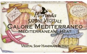 "Sapun vegetal ""Mediterranean Heat"", 100 g La Dispensa"