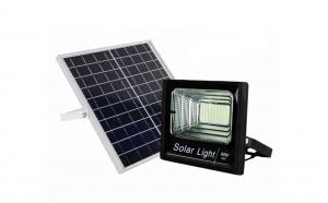 Proiector LED 60 W + Panou Solar cu telecomanda si senzor lumina