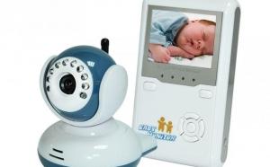 Camera de supraveghere pentru copii, Wireless, Display 2.4inch, Digital - Baby Monitor