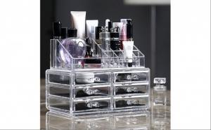 Organizator pentru cosmetice - cu 20 de spatii de depozitare
