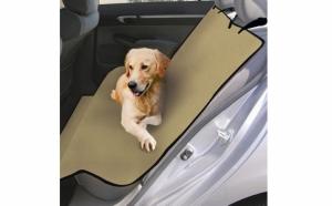 Protejeaza scaunele masinii tale folosind noua husa auto pentru caini, la DOAR 44 RON in loc de 89 RON