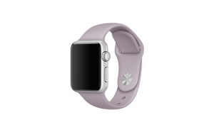Curea Silicon Premium MTP Lavenader  pentru Apple Watch 38mm