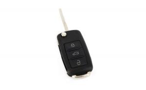 Carcasă cheie- VW Touareg - lamă tip briceag, 3 butoane