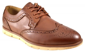 Pantofi barbati maro eleganti vintage, Incaltaminte piele