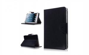 Husa tableta 7 Inch model X, negru, tip ,mapa, prindere 4 cleme C88
