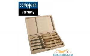 Set de dal  i pentru lemn 5 buca  i   Scheppach 88002716