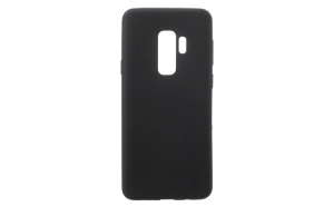 Husa Samsung Galaxy S9 Plus Flippy Matte Tpu Negru Mat